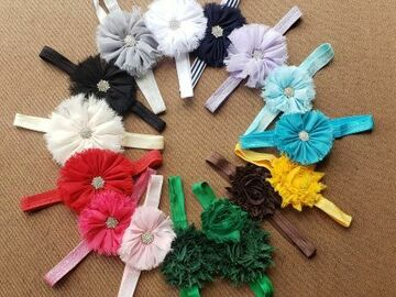 Selling with online payment: Flower Headband 2 Pack