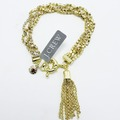 Buy Now: Dozen Gold J.Crew Rhinestone Tassel Bracelets $900 Value
