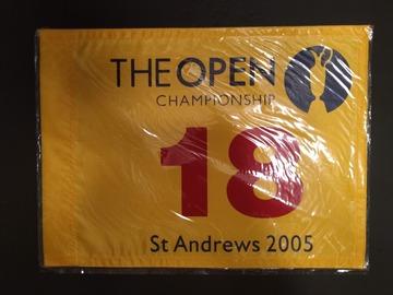 売ります: 2005年 全英オープン フラッグ