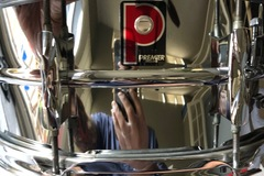 Selling with online payment: Premier 14x6.5 chrome snare