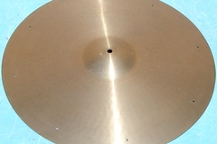"Selling with online payment: 1960s PAISTE Formula 602 20"" ride cymbal."