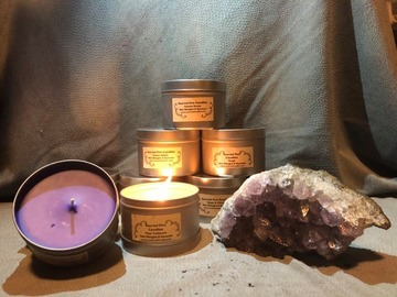 Selling: 8 Ounce Candles in Travel Tin