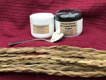 Selling: 4 Ounce Sweet Grass Body Butter