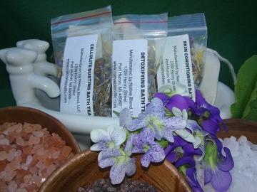 Selling: Herbal Bath Teas