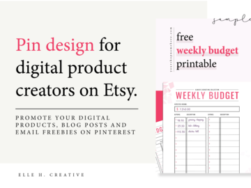 Offering online services: Pin Design for Digital Product Creators [10 Pins]