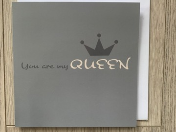 For Sale: You Are My Queen Gift Card