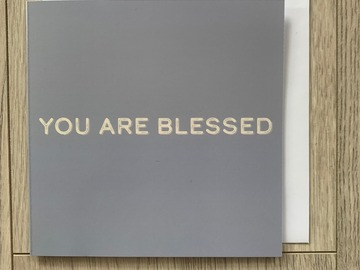 For Sale: You Are Blessed Greeting Card