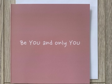 For Sale: Be You And Only You Greeting Card