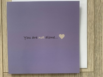 For Sale: You Are Not Alone Greeting Card