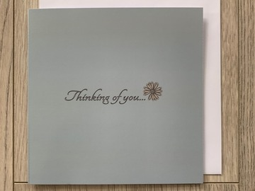 For Sale: Thinking Of You Greeting Card