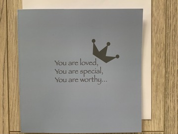 For Sale: You Are Loved, You Are Special, You Are Worthy