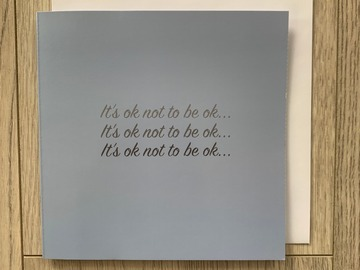 For Sale: It's Ok To Not Be Ok Greeting Card