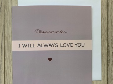 For Sale: I Will Always Love You Greeting Card