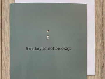 For Sale: It's Okay To Not Be Okay
