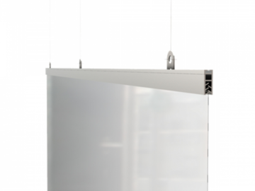 Sell your product: Hanging Sneeze Guard Partition