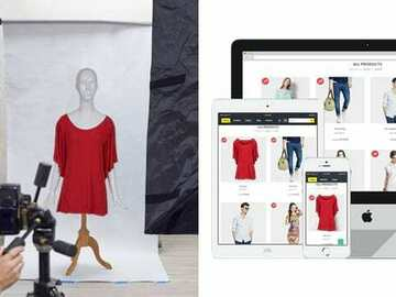 Offering with online payment: Outsourcing photo editing service provider