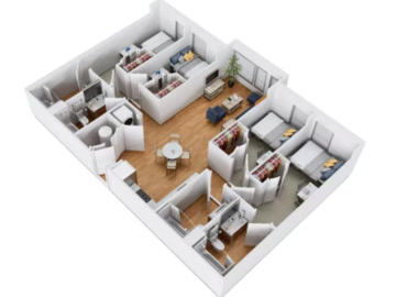 List Your Space: Fall semester relet/sublease in Terrapin Row 1 bedroom/1 bathroom
