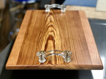 Selling with online payment: Heart Pine Charcuterie Serving Tray