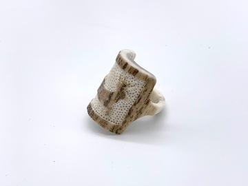 Selling: Carved Antler Rings