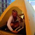 Vuokrataan (päivä): Black Diamond Firstlight 2h teltta, paino vain 1,5kg