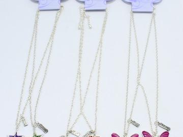 Liquidation/Wholesale Lot: Dozen Assorted Girls Best Friend Necklace Sets