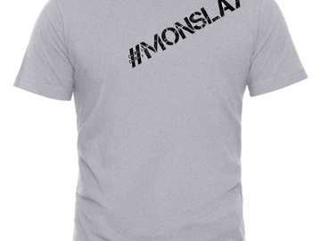 For Sale: #Monslay Slogan Tee