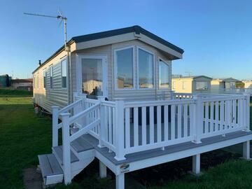 Set Nightly Pricing : Brand New Sea View Caravan - Sleeps 8 (Sandy Bay)
