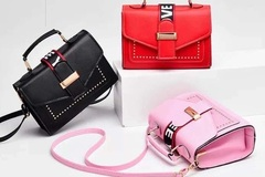 Buy Now: (24) Trendy Women Crossbody Fashion Handbag Purse Tote