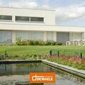 .: Lage witte villa in houtskeletbouw | door Dewaele