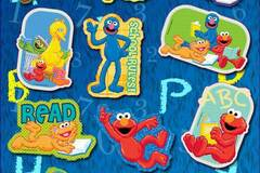 Buy Now: Wholesale Elmo And Friends Assorted Stickers