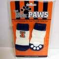 Buy Now: Wholesale Licensed University Of Illinois (Pack Of 4) Dog Socks –