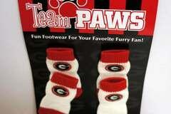 Buy Now: Wholesale Licensed University Of Georgia (Pack Of 4) Dog Socks –