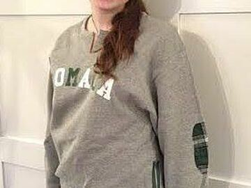 Selling A Singular Item: NEW  Camp Romaca Sweatshirt with Elbow Patches