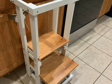 Selling with online payment: Kitchen Helper Stool for Children