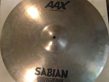"""Selling with online payment: Sabian AAX Stage Ride Cymbal 21"""""""