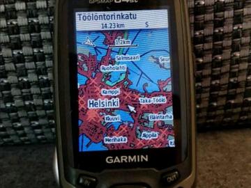 Vuokrataan (päivä): GPS-paikannin Garmin GPSMAP 64st