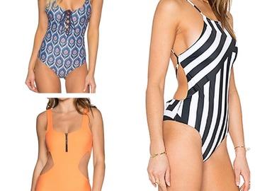 Liquidation/Wholesale Lot: [One-Pieces] Tavik Designer Swimwear One-Pieces, Assorted Sizes