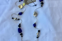 Compra Ahora: 12 pieces Blue Spark Necklace By Chico's retail priced $34.95 eac