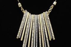 Buy Now: Dozen I-N-C- Fancy High End Bar Pendant Necklaces $414 Value