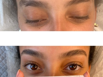 Free Service: Eyebrows Tint & Wax