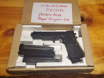 """Selling: WTS -  Western Arms Infinity SV system """"Magna"""" 2011"""