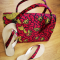 For Sale: Set of Bag and slippers