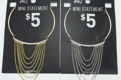 Compra Ahora: 24 New Rhinestone Mini Statement Choker Necklaces by RUE21