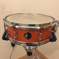 Selling with online payment: DW Exotic Series Curly Tangerine Snare Drum 13""