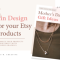 Offering online services: Pin Design for Your Etsy Products [5 Pins]