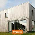 .: Strakke houtskeletbouw met Padoek | door Dewaele