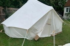 Renting out with online payment: Bell tent