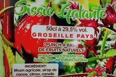 Vente avec paiement en direct: Punchs aux fruits pays