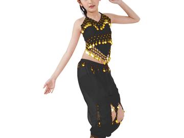 Buy Now: 50 Sets Kids Halloween Costumes Belly Dancing genie & Free BONUS