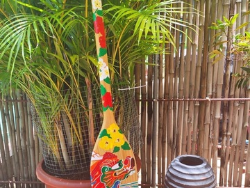 : Decorative Paddle/Oar - Dragon Boat (1)
